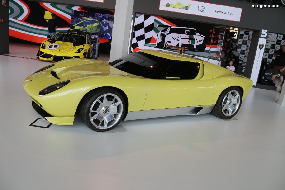 Un plateau exceptionnel de 27 Lamborghini au salon Epoqu'Auto 2018