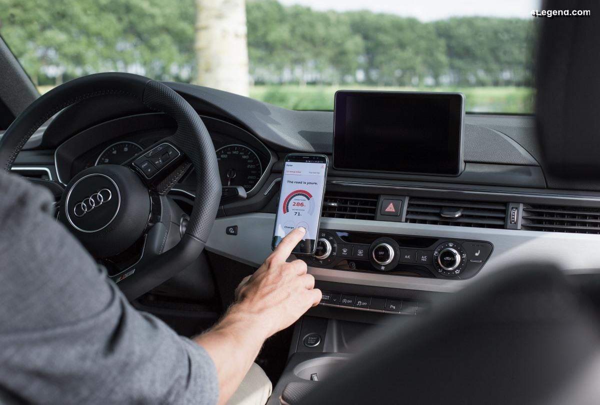 Audi lance l'application e-xperience pour faciliter la conduite électrique