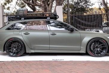 Audi RS 6 Wide Body par RACE! – Une RS 6 Avant au look militaire
