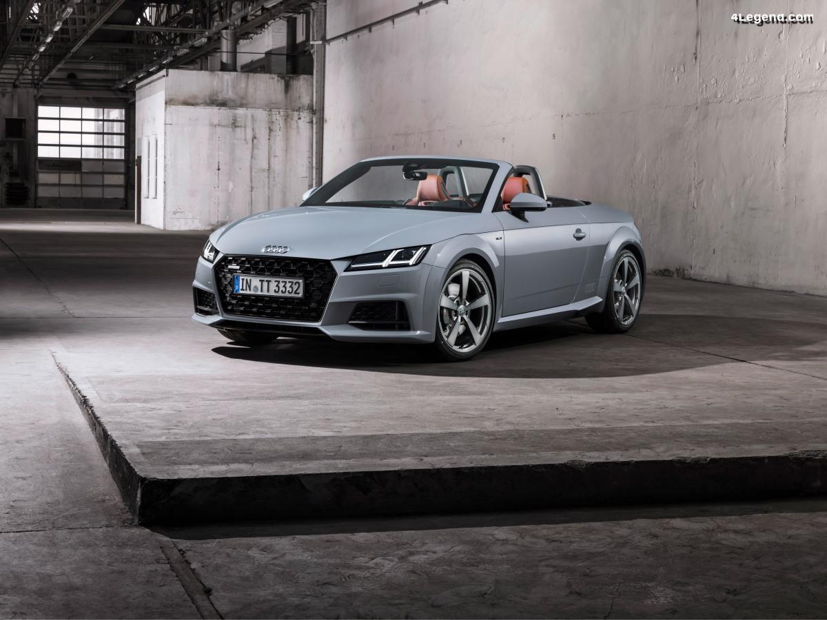 Audi TT 20 years - Une série limitée de 999 exemplaires pour les 20 ans du TT