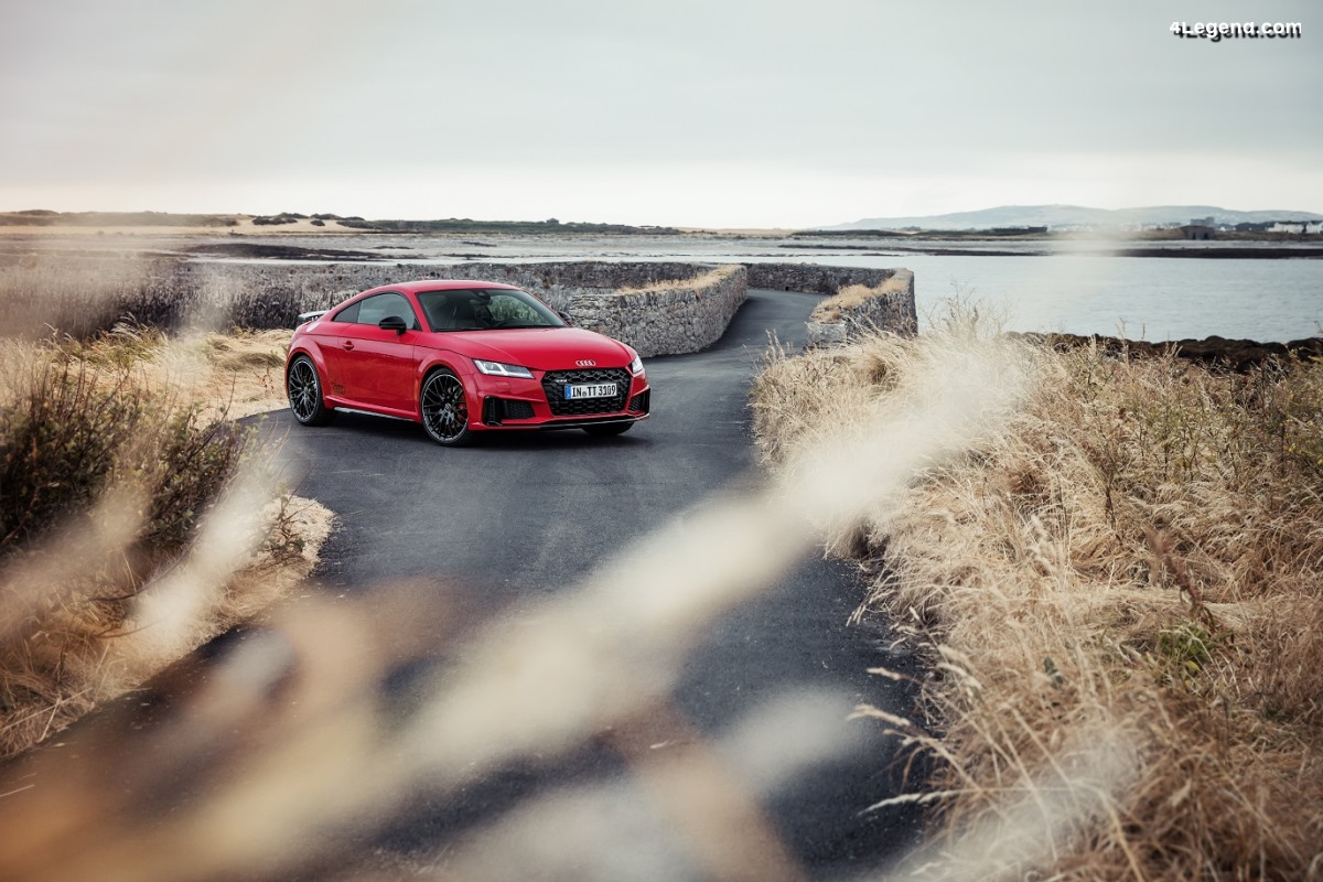 Nouvelle Audi TTS competition - Plus sportive