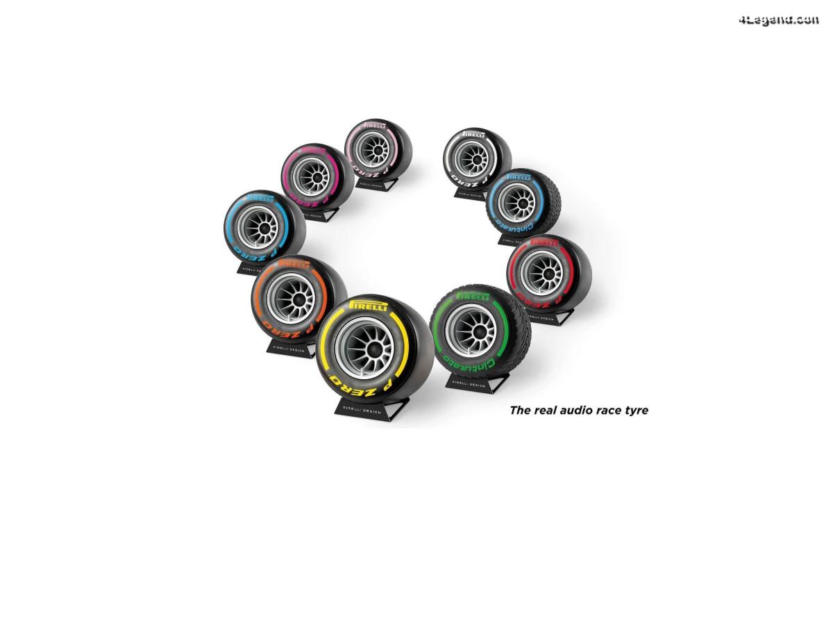Pirelli P Zero Sound - Des enceintes Bluetooth en forme de pneus de course Pirelli