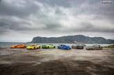 Lamborghini Avventura 2018 : une expédition de voitures Lamborghini à travers les fjords norvégiens