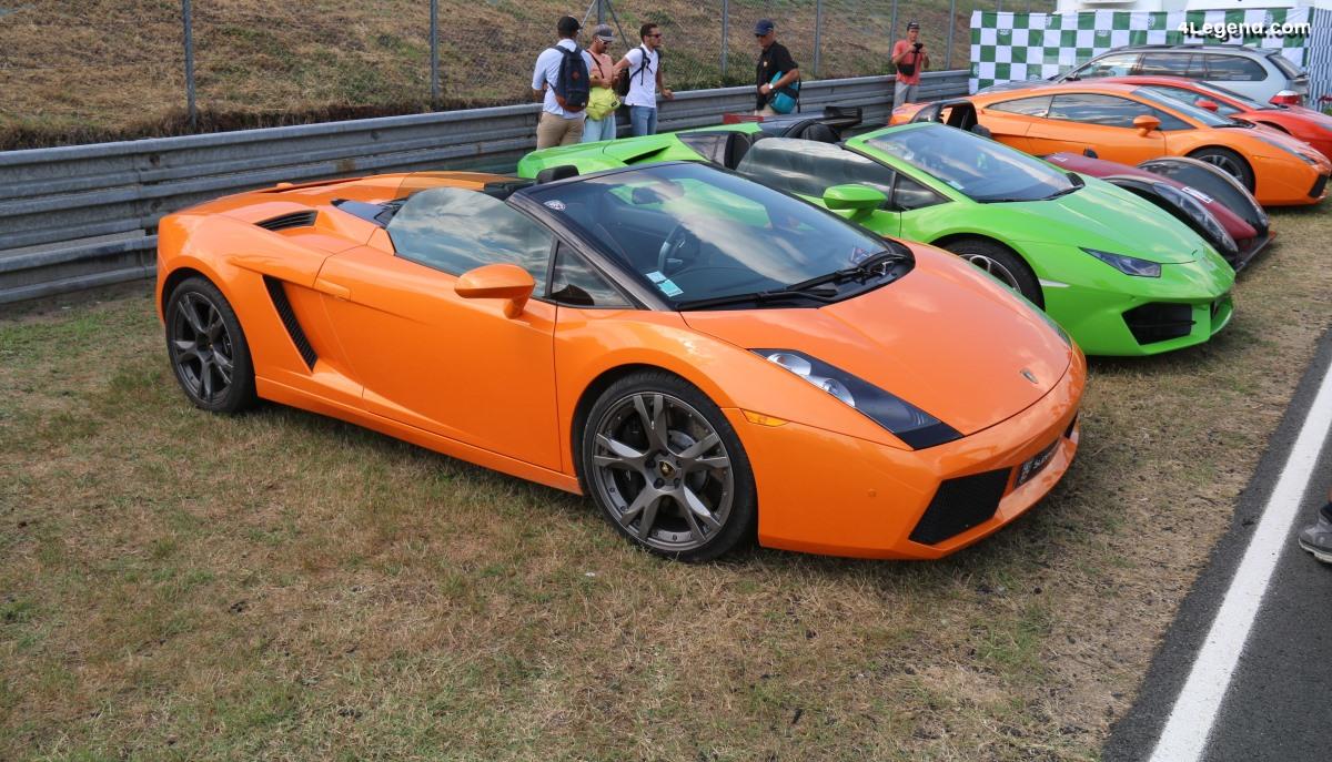 Le Mans Classic 2018 - Un beau panel de Lamborghini