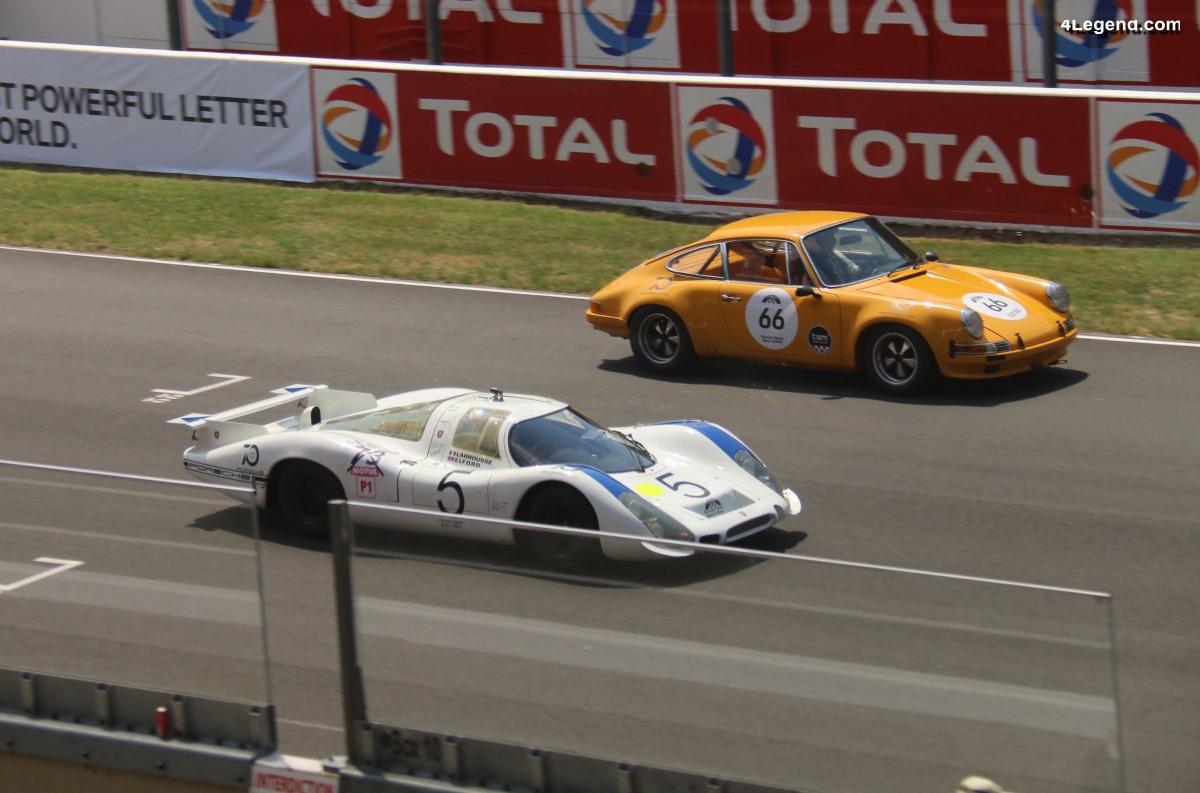 Le Mans Classic 2018 - Porsche Classic Race Le Mans