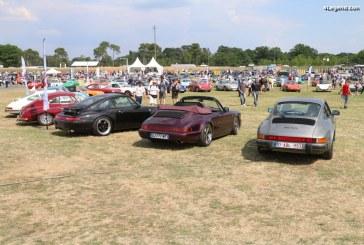 Le Mans Classic 2018 – Exposition de près de 1 000 Porsche sur le stand de la Fédération des Clubs Porsche