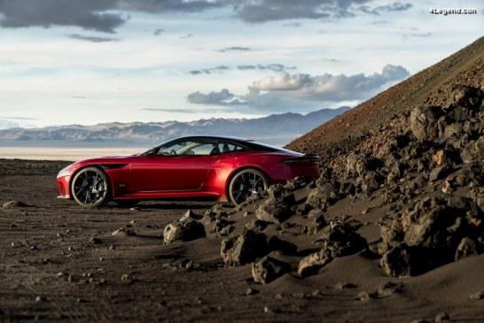 Des pneus Pirelli P Zero en première monte sur l'Aston Martin DBS Superleggera