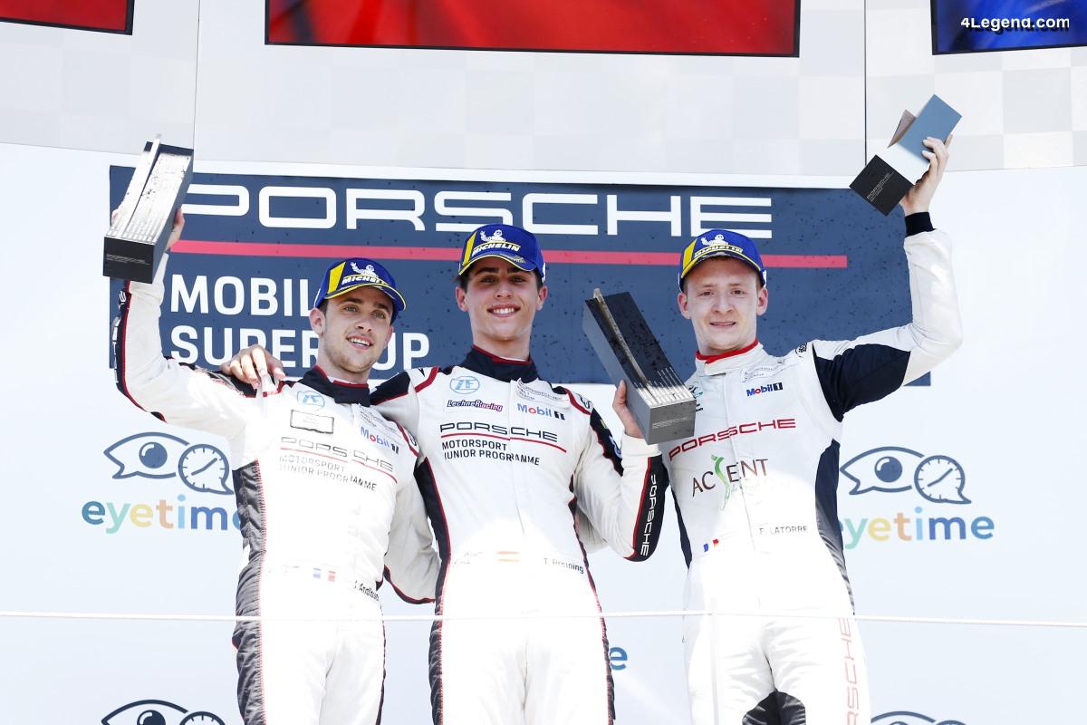 Supercup - Victoire du pilote Porsche Junior Thomas Preining au Spielberg