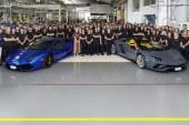 Automobili Lamborghini a produit 8 000 Aventador et 11 000 Huracán