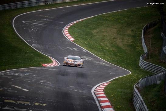 Record du tour du Nürburgring battu par la Lamborghini Aventador SVJ en 6:44.97 minutes