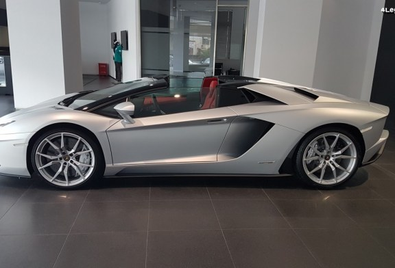 Visite exclusive de la concession Lamborghini Shanghai