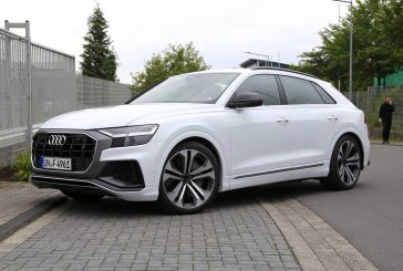 Spyshots Audi SQ8 – Une déclinaison sportive du Q8 prévue pour 2019