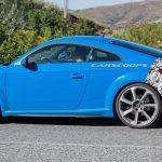 Spyshots Audi TT RS 2019 – Léger restylage avec l'apparition de nouvelles pièces en carbone