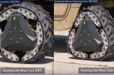 RWT – Un système reconfigurable passant de la chenille à la roue et inversement en 2s