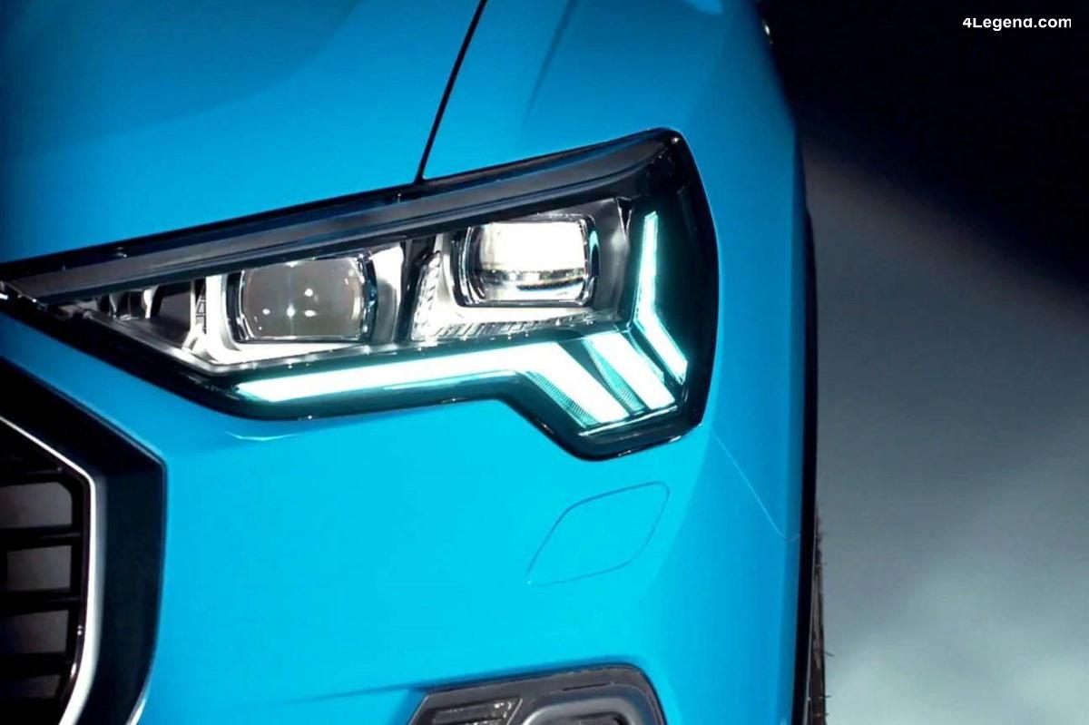 Audi tease le nouveau Q3 avant sa présentation le 25 juillet 2018