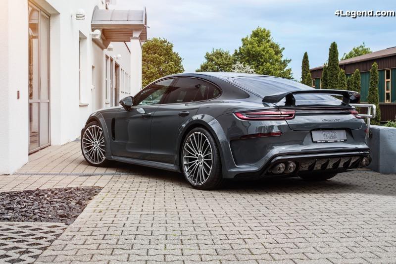 Nouvelle jante Techart Formula V pour Porsche Panamera (971) et Porsche Cayenne (9Y0) - 4Legend ...
