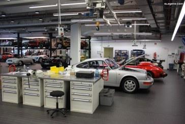 Atelier Porsche classic au sein du Porsche Museum – Entretien et réparation des Porsche historiques