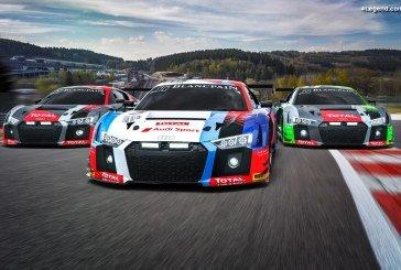 9 Audi R8 LMS engagées aux 24 Heures de Spa pour une cinquième victoire