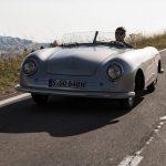 Première présentation de la Porsche 356 Nr.1 Roadster et premier article de presse