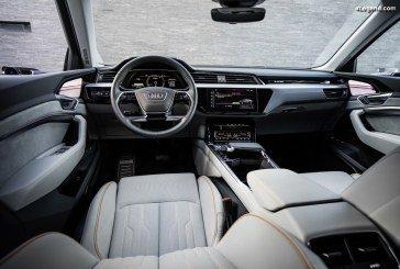 Audi dévoile l'intérieur de l'Audi e-tron au Danemark