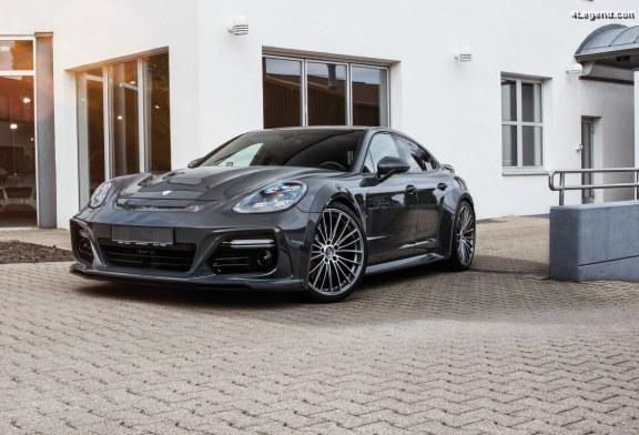 Nouvelle jante Techart Formula V pour Porsche Panamera (971) et Porsche Cayenne (9Y0)