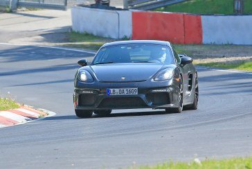 Spyshots Porsche 718 Cayman GT4 – Sans camouflage!