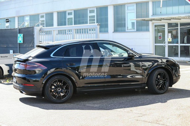 spyshots porsche cayenne coup une r alit pour 2019. Black Bedroom Furniture Sets. Home Design Ideas