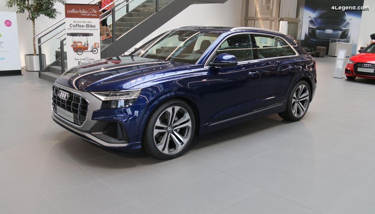 Premier contact avec l'Audi Q8 - Un succès annoncé