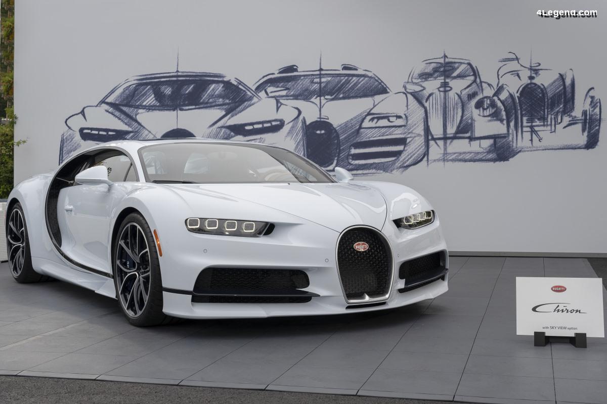 Bugatti fêtera ses 110 ans en 2019 - Ouverture des célébrations à la Monterey Car Week