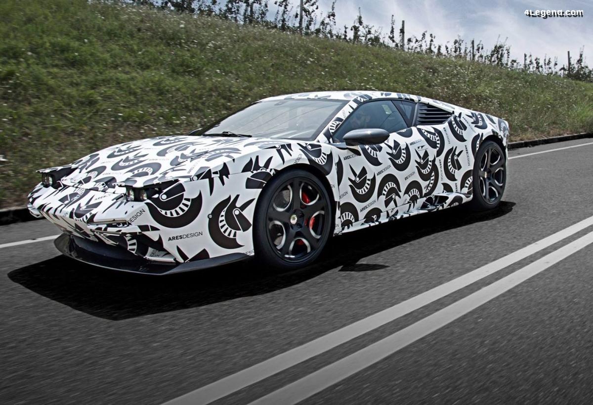 Ares Design Panther - Une nouvelle supercar sur la base d'une Lamborghini Huracán