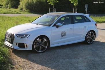Audi suspend la production de son RS 3 à cause des normes WLTP