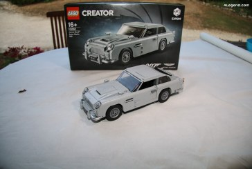 LEGO – Découverte et montage de l'Aston Martin DB5 de James Bond – 007