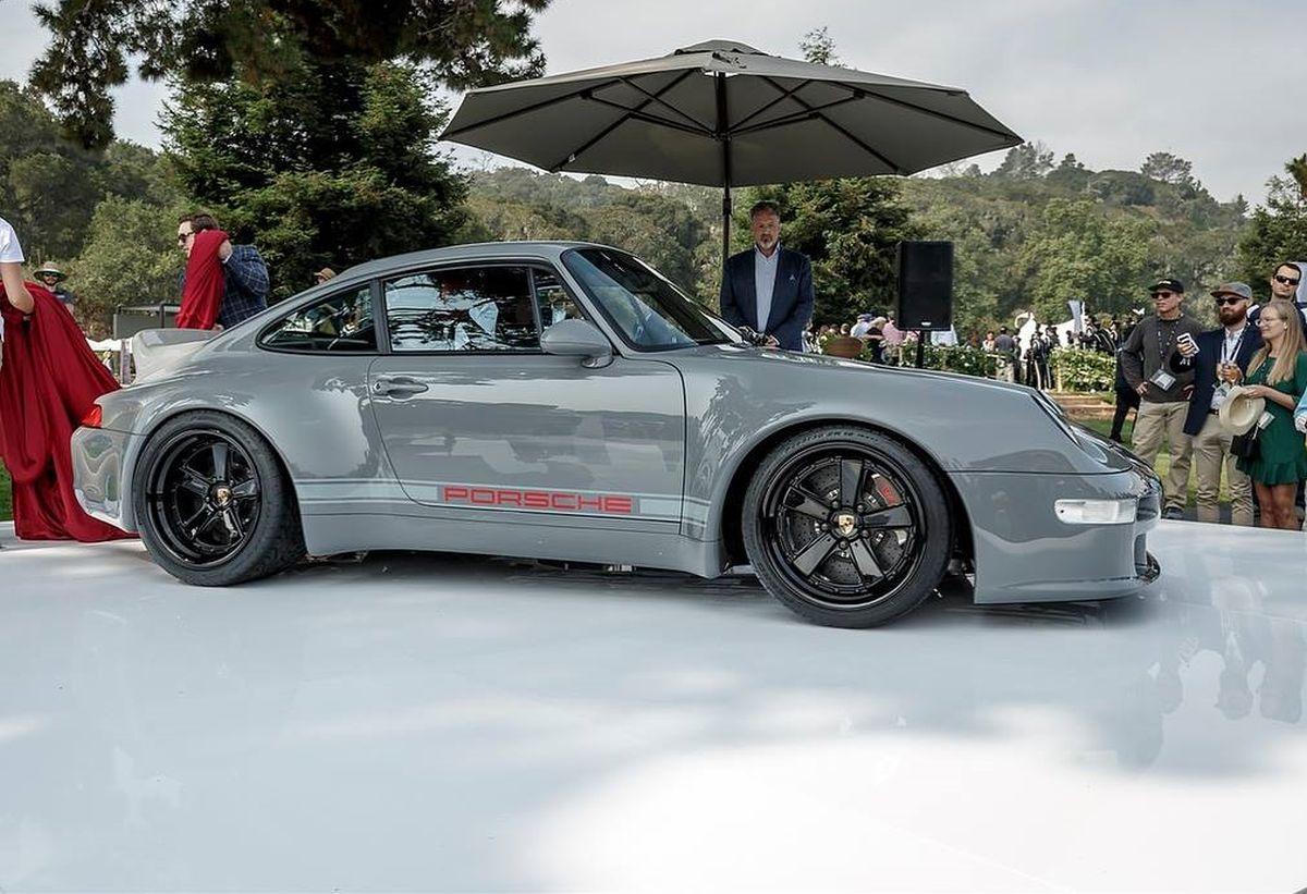Gunther Werks 400R Sport Touring - Backdating d'une Porsche 911 Type 993 limité à 25 exemplaires