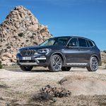 Deux gammes de pneus Bridgestone en première monte sur le BMW X3