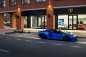 Ouverture d'un nouveau showroom Lamborghini au Cap, en Afrique du Sud