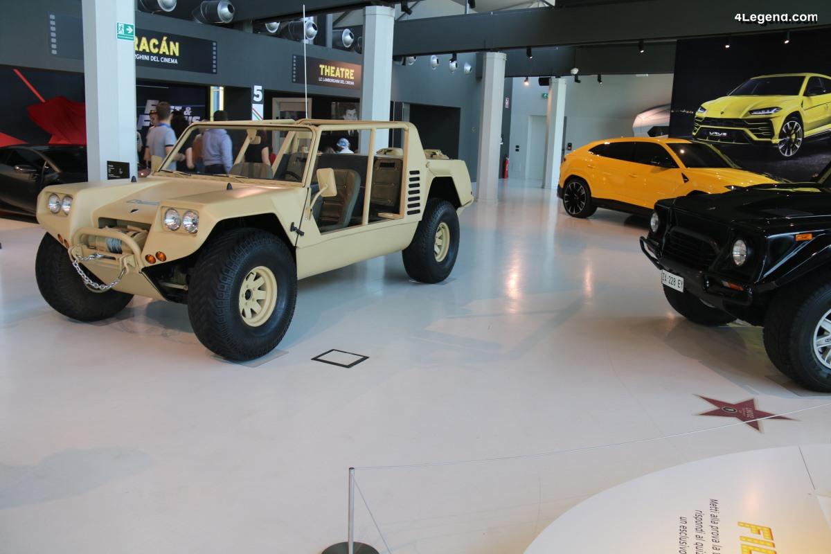 Lamborghini Cheetah - Un prototype de 4x4 militaire produit à 2 exemplaires en 1977