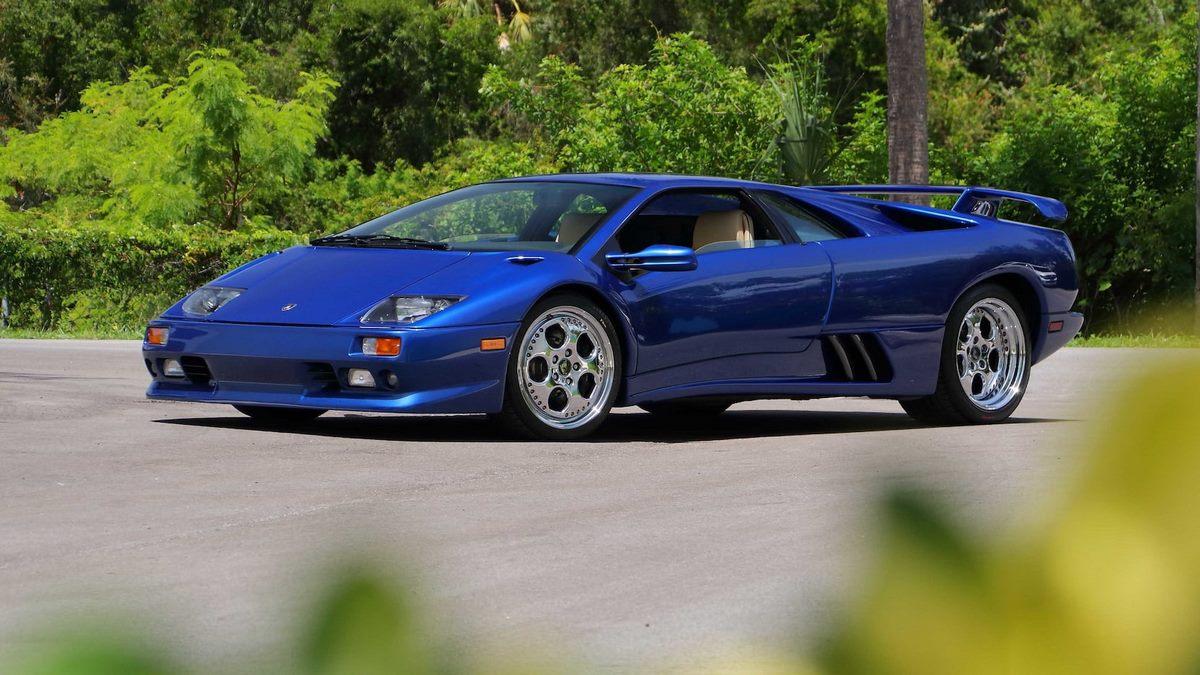 Lamborghini Diablo VT Alpine Edition de 1999 - Une série limitée de 12 exemplaires