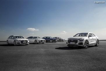 Nouvelle génération de modèles Audi au complet avec l'arrivée du Q8