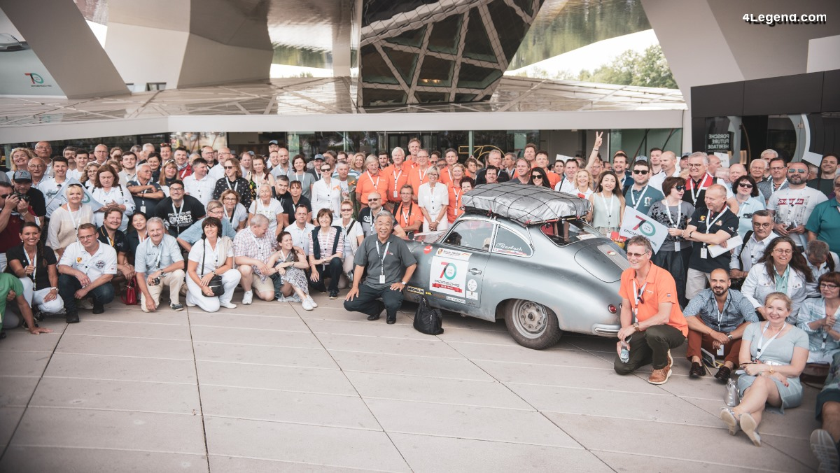 70 ans Porsche - L'incroyable périple du japonnais Toshiyuki Suzuki et de sa Porsche 356