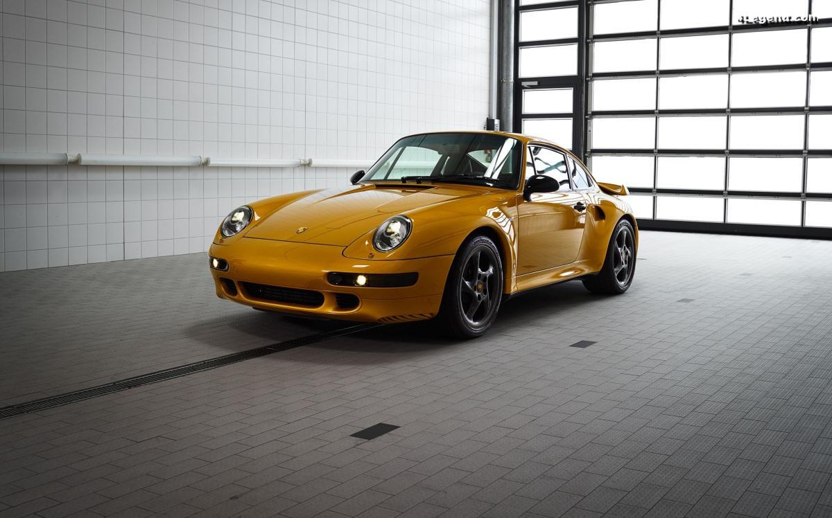 Vente de la Porsche 911