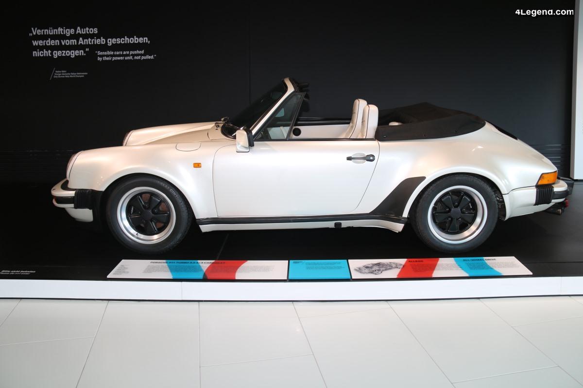 porsche 911 turbo 3 3 4x4 cabriolet concept de 1981 la premi re 911 4 roues motrices. Black Bedroom Furniture Sets. Home Design Ideas