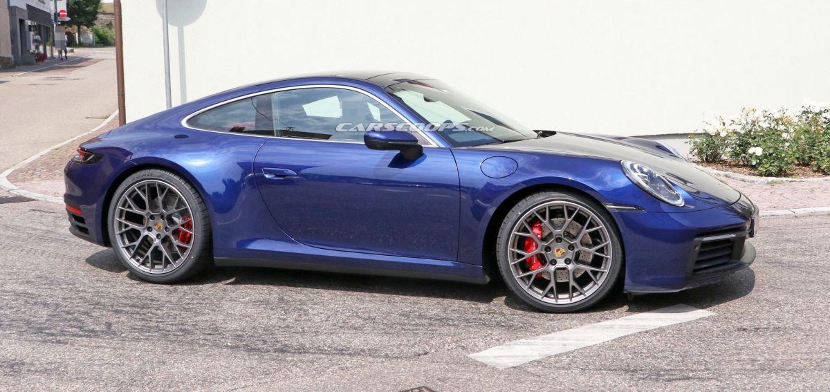 La nouvelle Porsche 911 Type 992 en approche
