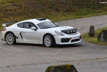 Porsche Cayman GT4 Clubsport Rallye concept – Une version rallye de la GT4