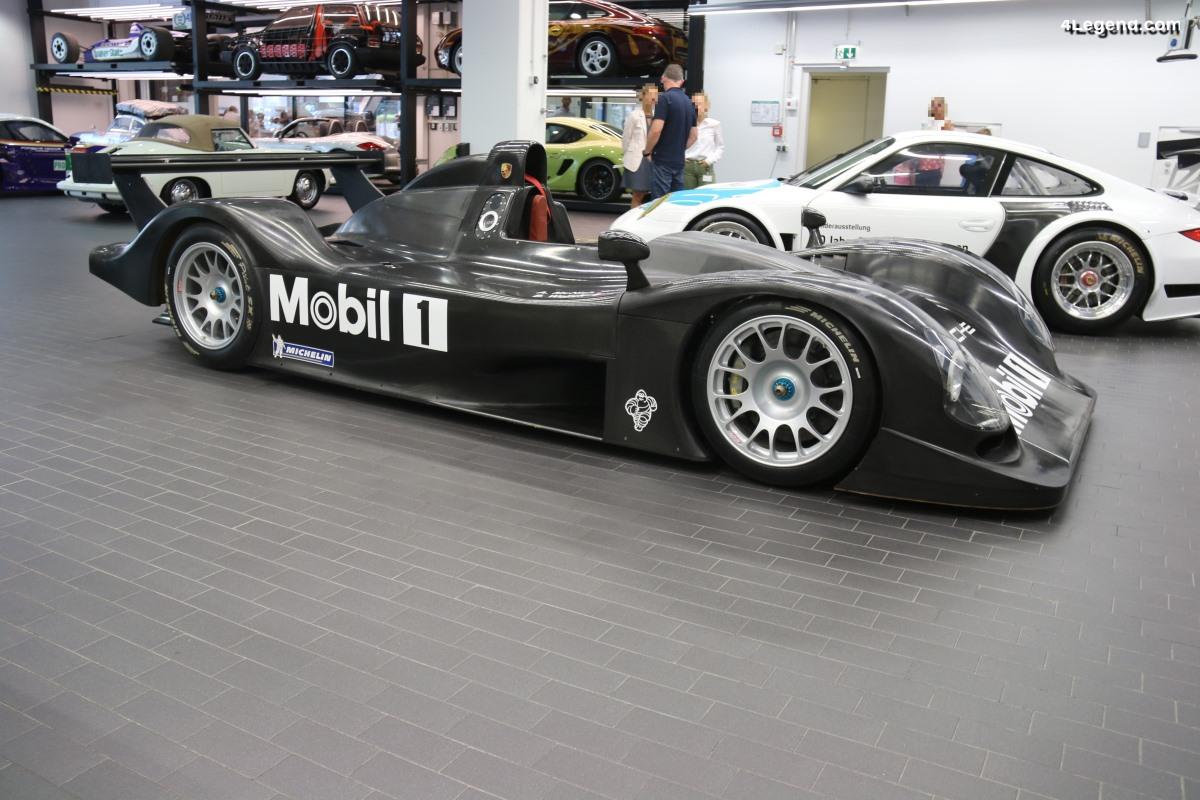 Découverte exclusive de la Porsche LMP 2000 9R3 de 1999