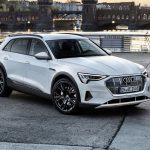 L'Audi e-tron sans camouflage