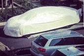 Une mystérieuse Bugatti berline à 4 portes en approche