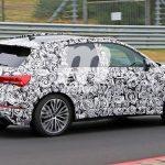 Spyshots de l'Audi RS Q3 2019 sur le Nürburgring