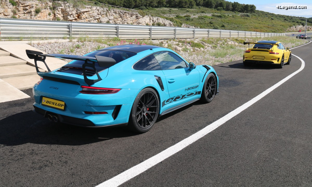 Anecdote - Des vitres en Gorilla Glass dans la Porsche 911 GT3 RS pour plus de légèreté