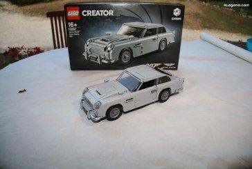 LEGO – Découverte et montage de l'Aston Martin DB5 de James Bond – 007