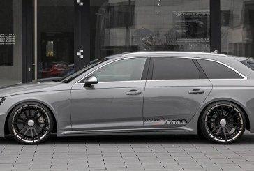 Audi RS 4 Avant B9 préparée par Wheelsandmore – Stage 1 de 527 ch & 710 Nm
